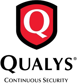 Qualys Logo - Chris worked as EMEA PR Manager while the company reorganised its EMEA operations gaining further experience of a US company