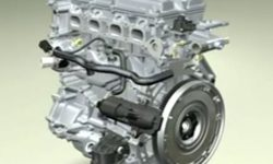 Ford Duratec engine - modelled in I-DEAS CAd software