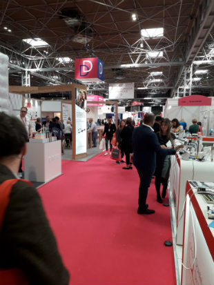 Photo - some parts of the BDIA Showcase were busy